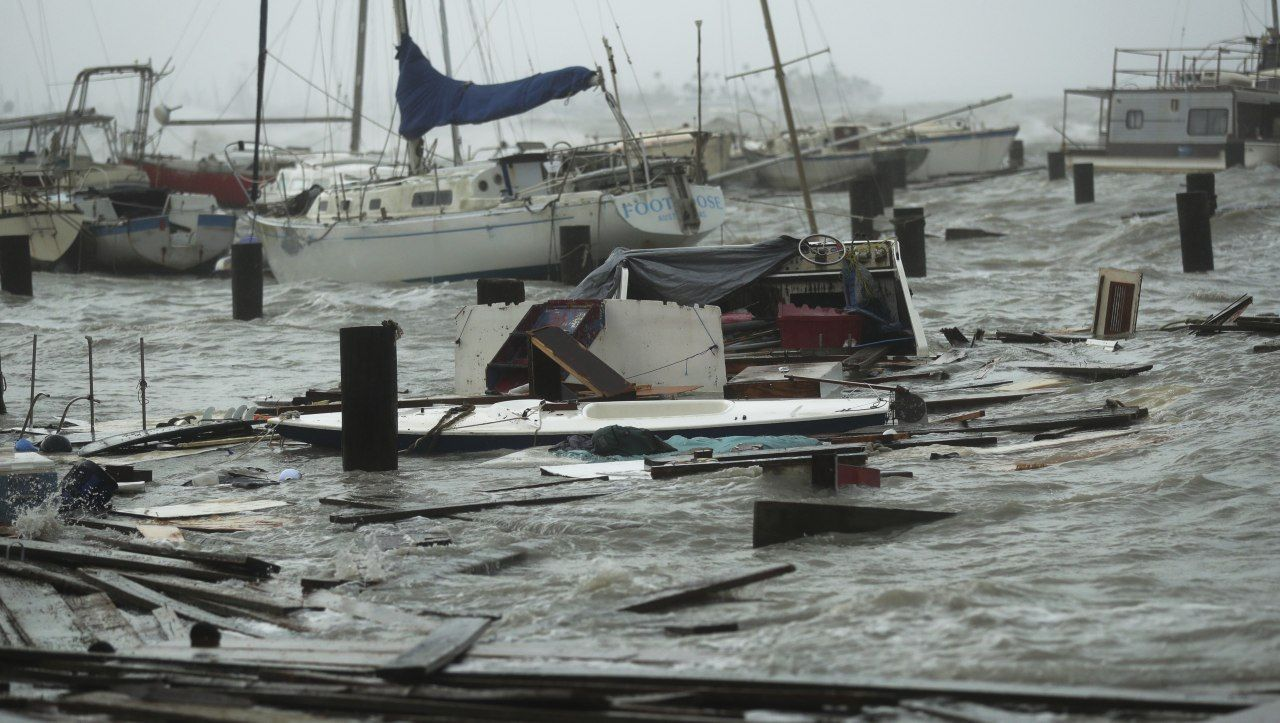 Ураган Ханна сеет хаос в Техасе