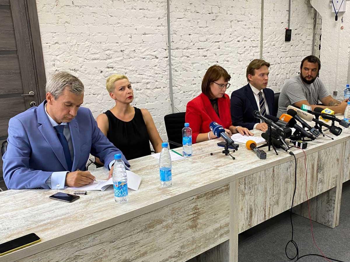 В Беларуси возбудили дело о захвате власти по факту создания оппозиционного совета