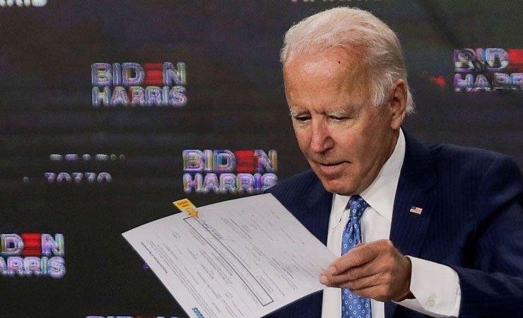 Джо Байден официально стал кандидатом в президенты США от демократов
