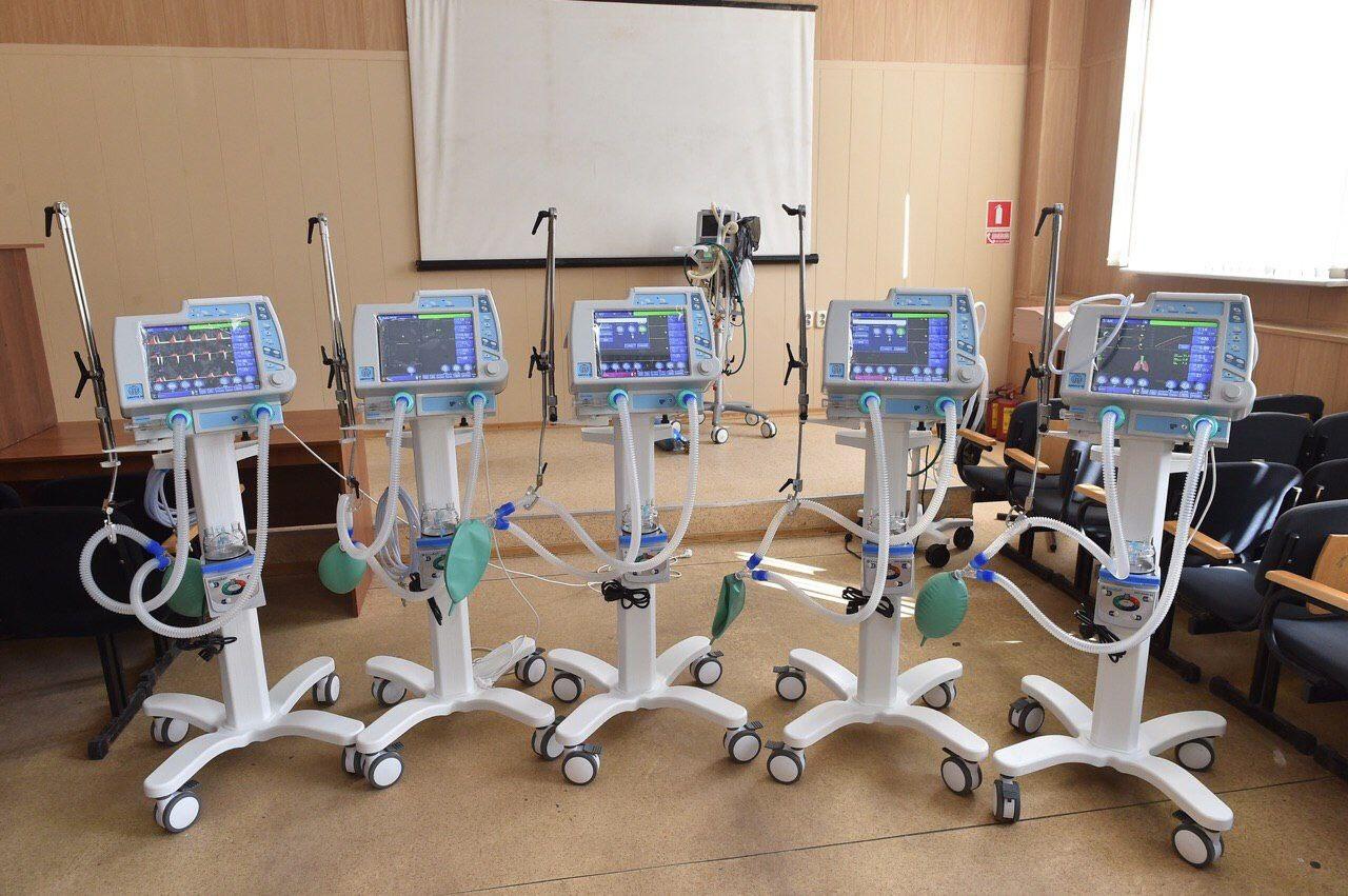 В России приостановлено использование аппаратов ИВЛ «Авента-М»