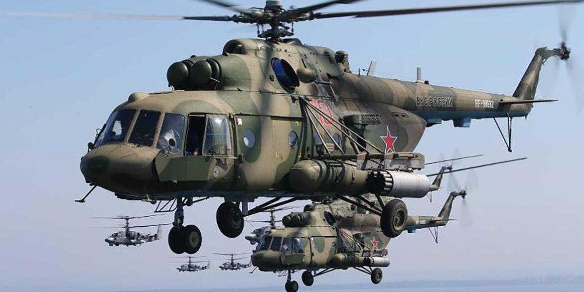 В районе армяно-азербайджанской границы сбит российский вертолет