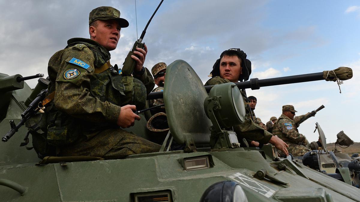 Россия отправит в Карабах 1960 миротворцев