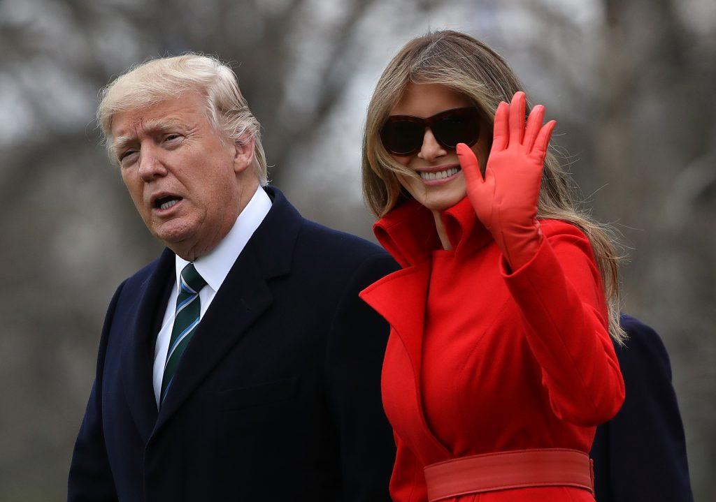 Меланья Трамп собирается подать на развод