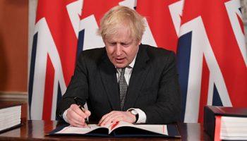Борис Джонсон подписал сделку с ЕС по Brexit