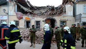 Число жертв землетрясения в Хорватии возросло
