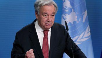 Генсек ООН призвал посвятить 2021 год исцелению