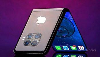Apple тестирует прототип экрана складного iPhone