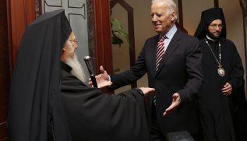 Байден заявил о желании сотрудничать с Константинопольским патриархом