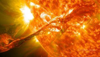 Большое извержение на Солнце отследили два различных зонда. Сравниваются данные