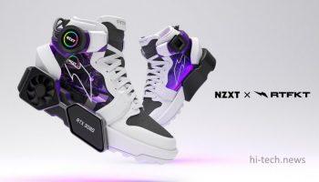 Создаются ботинки, оснащенные… видеокартами GeForce RTX 3080