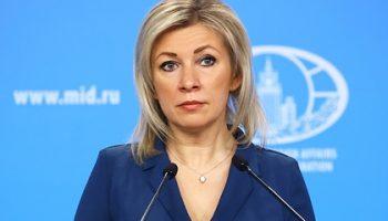 Захарова назвала бессодержательным ответ Германии на запросы о Навальном