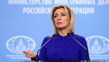 Захарова назвала публикации посольства США вмешательством во внутренние дела