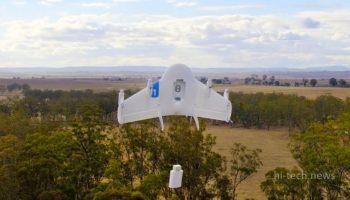 Google протестирует дроны в борьбе с пожарами