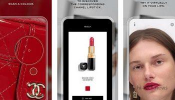 Приложение Lipscanner от Chanel дебютирует на iOS. Поможет подобрать правильный цвет помады