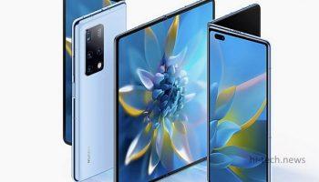 Складной и переработанный Huawei Mate X2 официально представлен