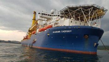 Судно «Академик Черский» присоединится к укладке труб газопровода «Северный поток – 2»
