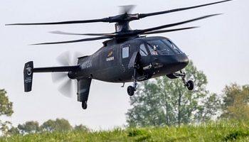 Футуристический вертолет S-97 Raider в действии