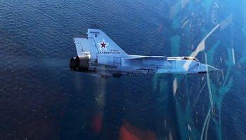 Российский МиГ-31 перехватил самолеты США и Норвегии над Баренцевым морем