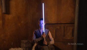 Компания Disney представила «настоящий световой меч». Выглядит как в кино (видео)