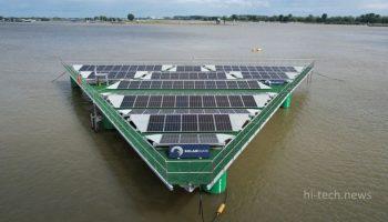 Планируют построить мощные плавучие солнечные фермы