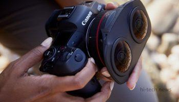 Canon представила объектив «рыбий глаз» для создания 3D- и VR-контента (видео)