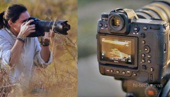 Nikon Z9 – беззеркальная камера, которая будет записывать видео в формате 8K в течение 2 часов