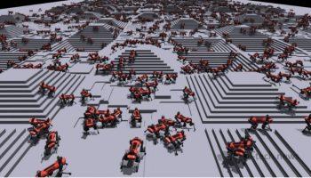 Посмотрите, как выглядит виртуальная тренировочная площадка ИИ. Здесь роботы учатся ходить (видео)