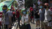 В Бразилии прошли массовые протесты с требованием отставки президента